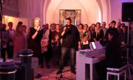 Stemning og musik fra workshop i Kværndrup