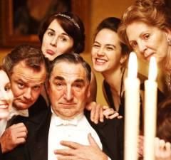Nos bastidores de Downton Abbey
