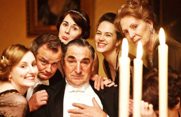 Nos bastidores de Downton Abbey 1