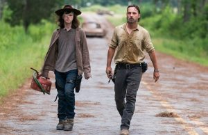 carl morre the walking dead