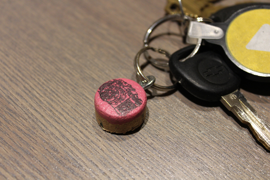 How to Make a Keychain | Cork Stamped Keychains | DIY Instructions from the Pop Shop America Blog