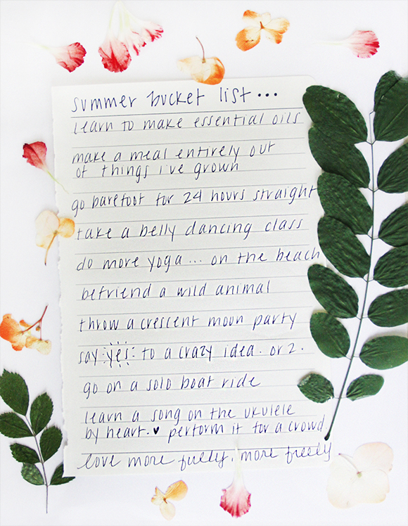 Make a Summer Bucket List from the Free People Blog   Things to Do this Summer   Pop Shop America a DIY Blog