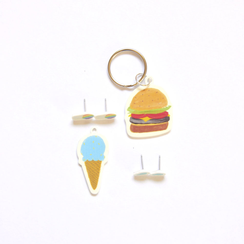 How to Make Your Own Summertime Earrings – Shrinky Dink Printables