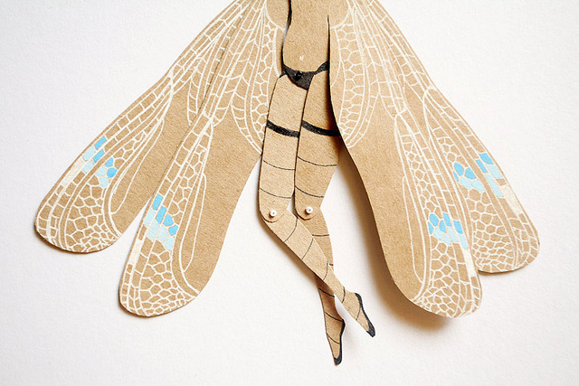MD Paper Dolls | Woman with Dragonfly Wings