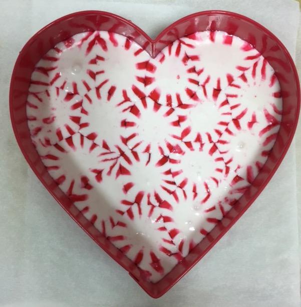 starlight mint platter still in the cookie cutter
