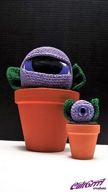 Cultgrrrl Creations Crochet Art Knitted Sculptures Handmade Crochet