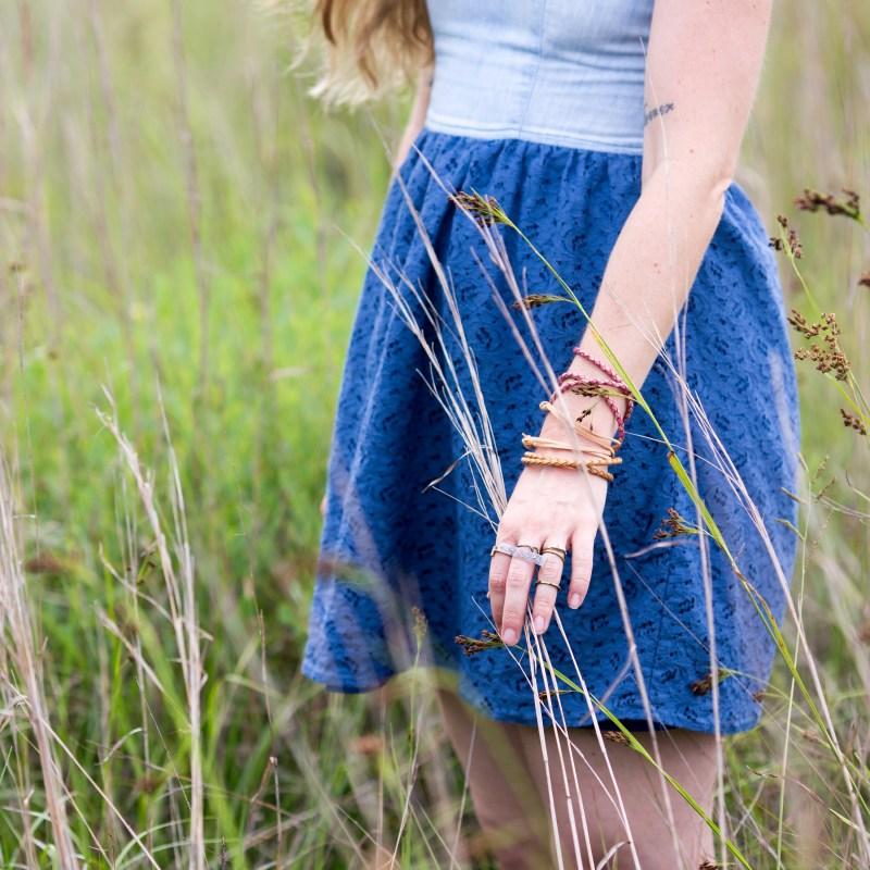 diy boho leather bracelet blog post tutorial boho jewelry diy