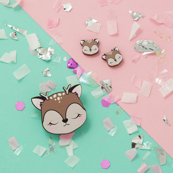 lux cups kawaii cat earrings at pop shop houston craft show