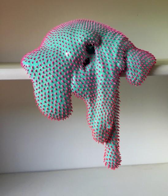 Dan Lam 'Getting Hot' Sculpture