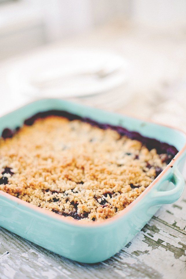 japanese dewberry crisp by the mississippi kitchen