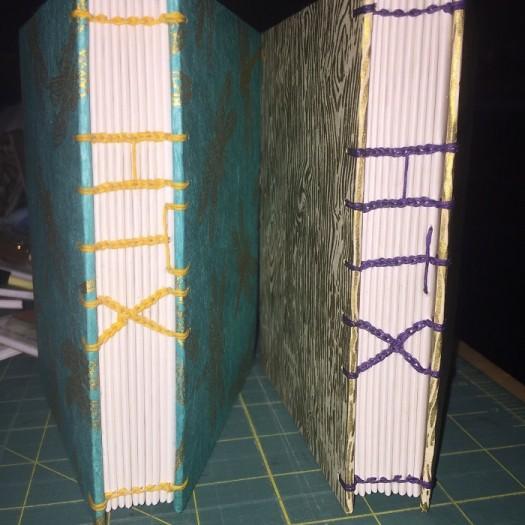 1 Plus 2 Equals LOVE book binding journal htx