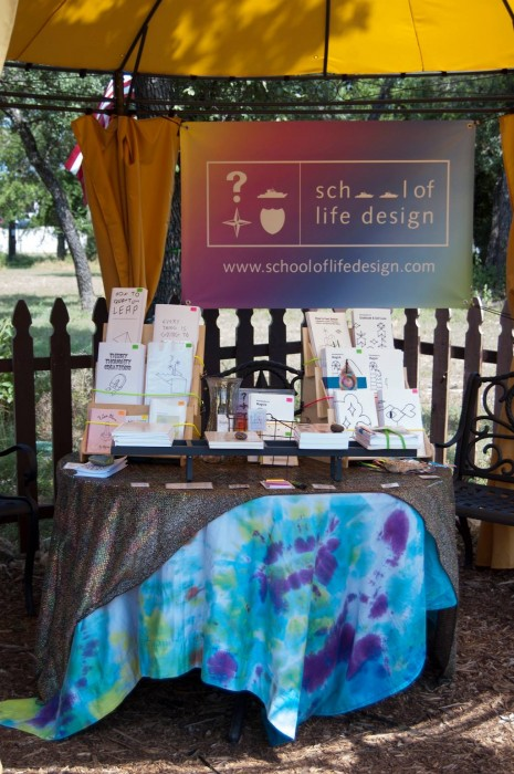 School of Life Design Booth Set Up For Events