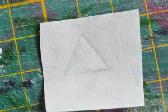 Temporary Tattoos - Triangle Template Crafts by Pop Shop America