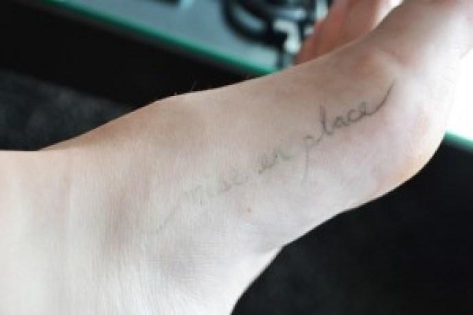 Temporary Tattoos - Ink drying DIY Blog Pop Shop America Cool Crafts