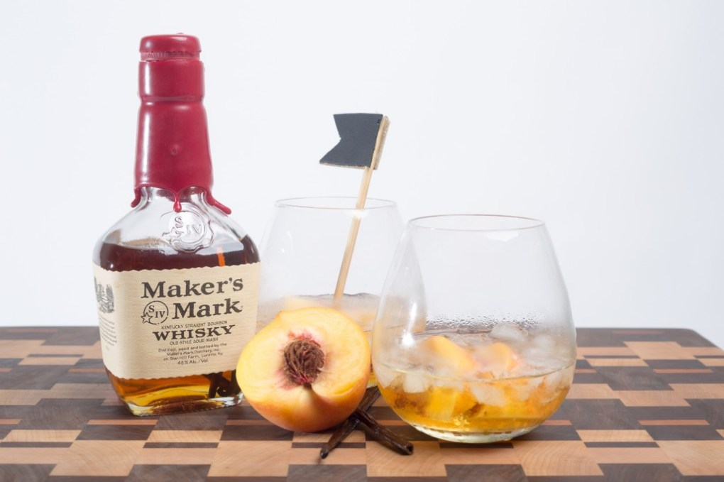 impeachment cocktail with leather cocktail stirrers diy