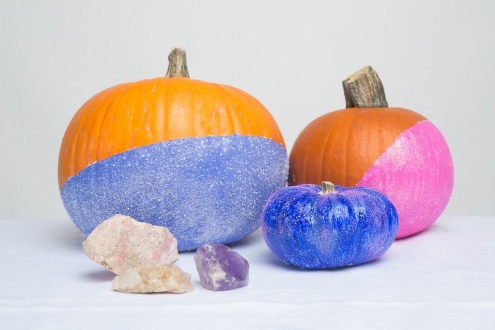 hero disco pumpkins diy no carve