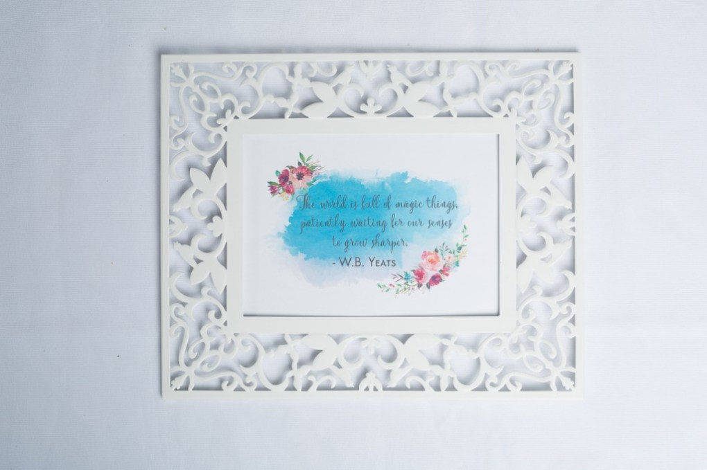 yeats watercolor print free printables