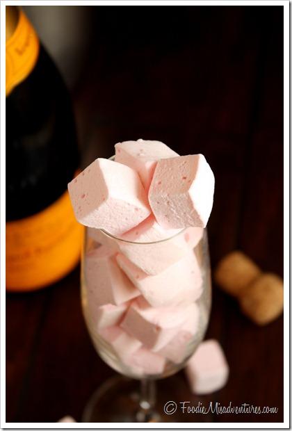 Champagne Marshmallow recipe