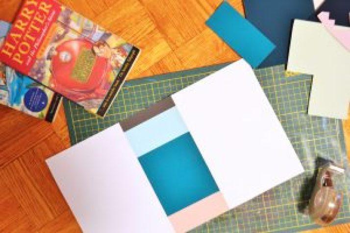 How to Make Cute Book Covers DIY Dust Jacket Pop Shop America DIY Blog