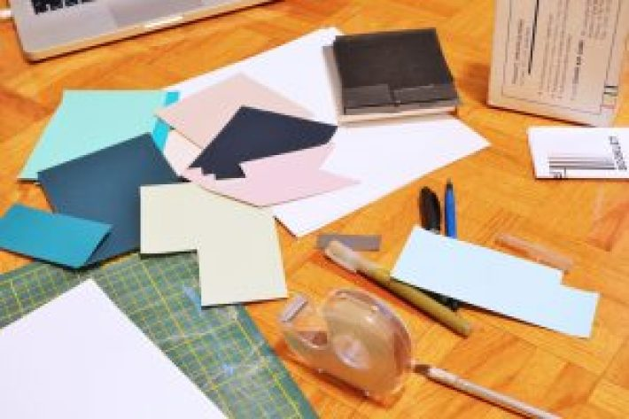 Supplies to Make a DIY Dust Jacket - DIY Book Covers