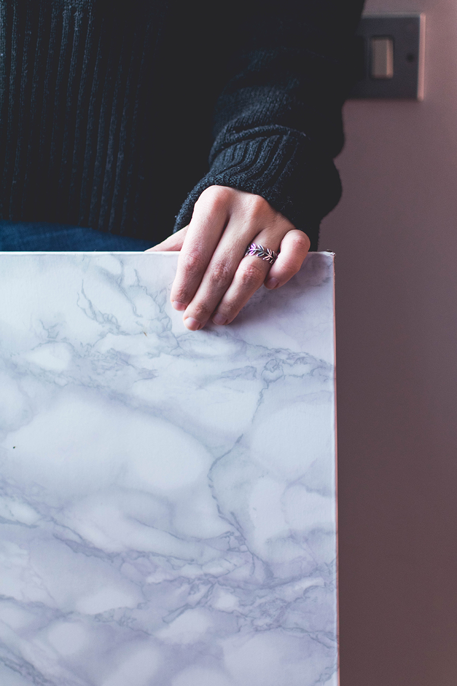 Details of marble DIY photography background