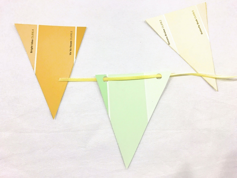 how to make a ombre bunting with nix bright_new