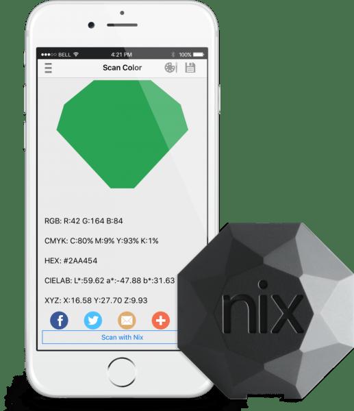 nix pro color sensor how to scan pop shop america blog