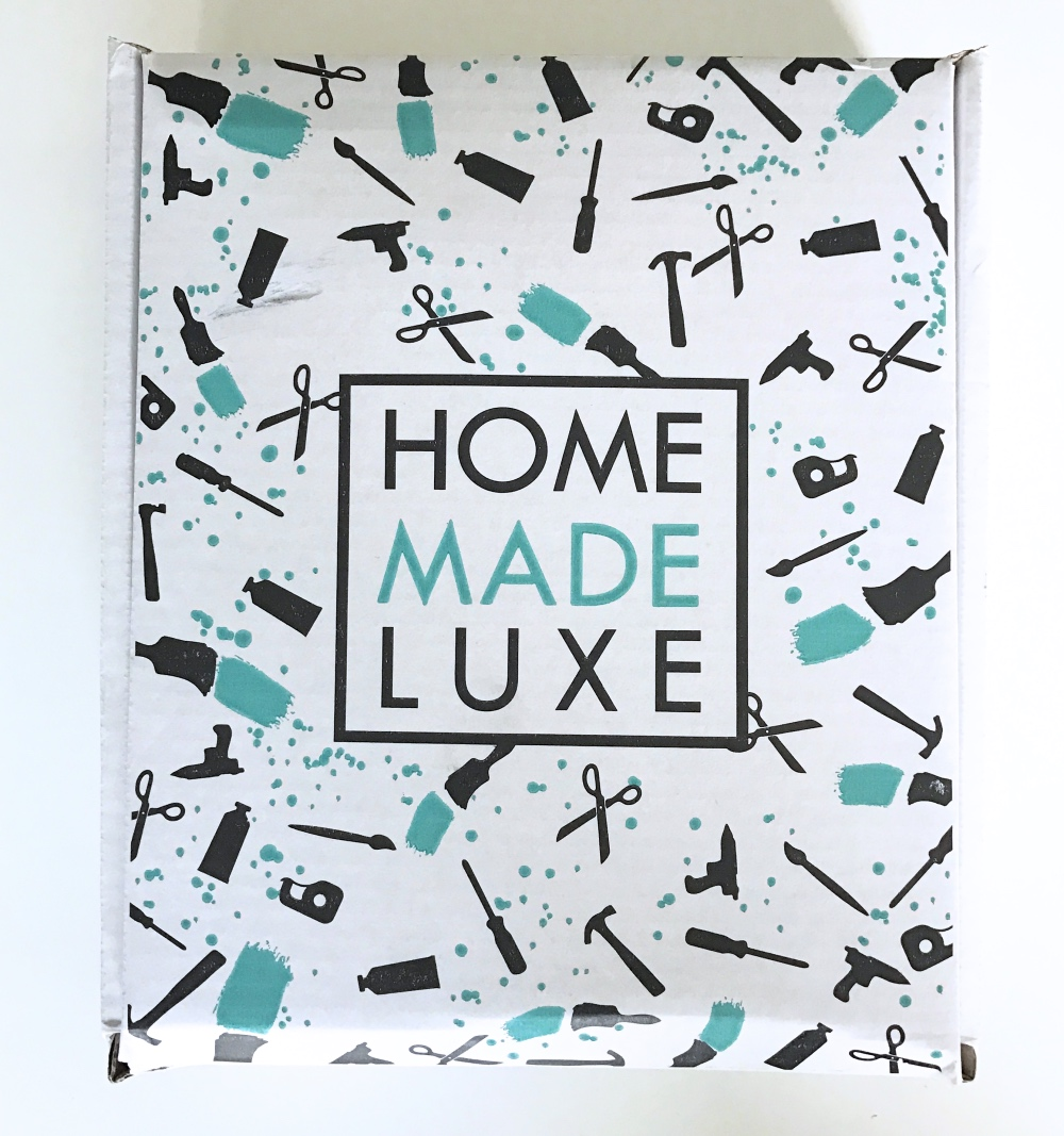 outside of home made luxe subscription box