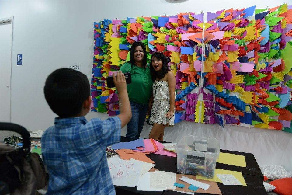 stephanie toppin art installation cool booth ideas indoor art markets