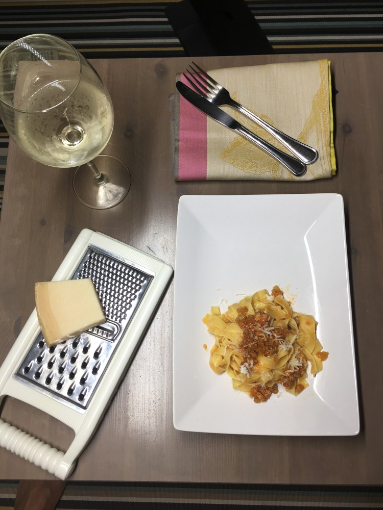 Popsicle Society - pappardelle al ragu