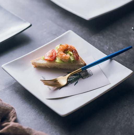 Ceramic Square Dinnerware_Popsicle Society
