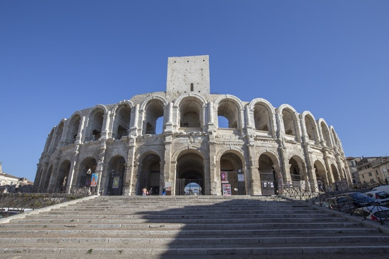 roman-amphitheater-Arles