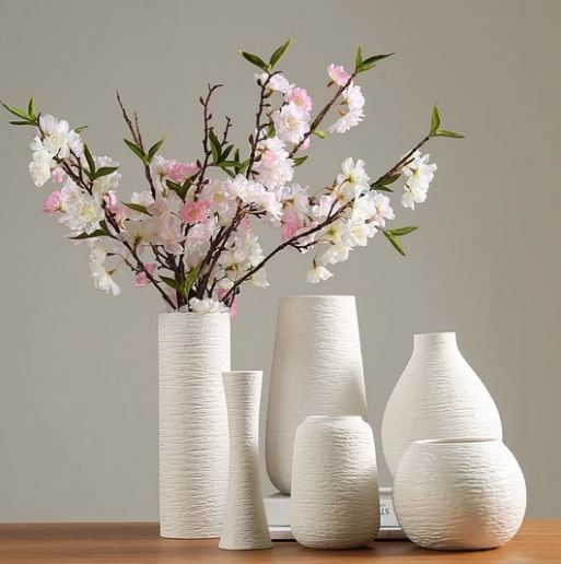 Table decor_white ceramic vase_Popsicle Society Shop