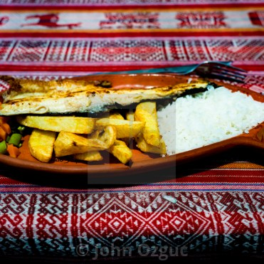 Typical lunch on Lake Titicaca_Picfair_Popsicle Society