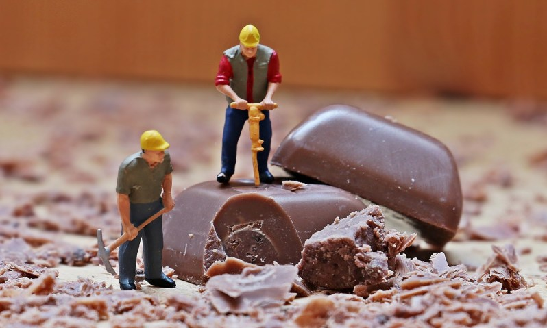 Chocolate miniature figure_Popsicle Society