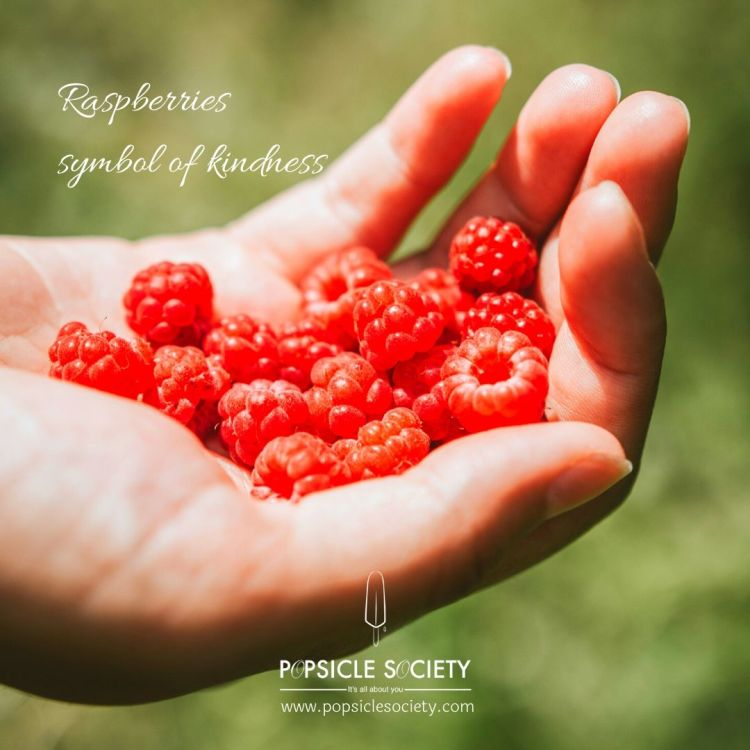 Raspberries symbol of kindness_Popsicle Society