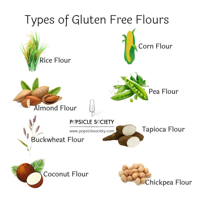 Types of gluten free flour_Popsicle Society