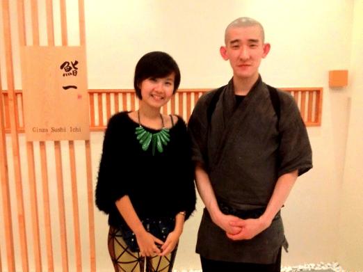 Executive Sushi Chef, Kimura Tomoo