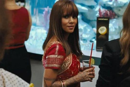 Halle Berry as one hot Indian. Credit: Warner Bros. Pictures