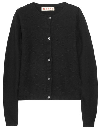 A (heart)warming affair: Marni Cashmere Cardigan