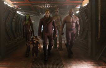 Guardians of the Galaxy - Peter-Gamora-Drax-Rocket, Groot