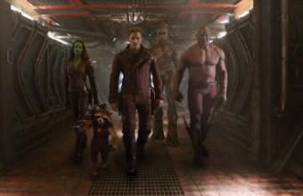 Guardians of the Galaxy - Peter-Gamora-Drax-Rocket, Groot