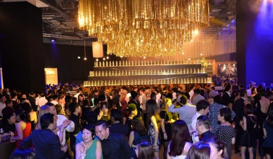 2013's Circuit Lounge was all sorts of glittery (Photo: Johnnie Walker Singapore)