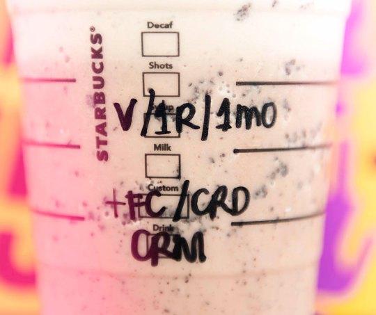 Starbucks Ariana Grande Drink - Popspoken
