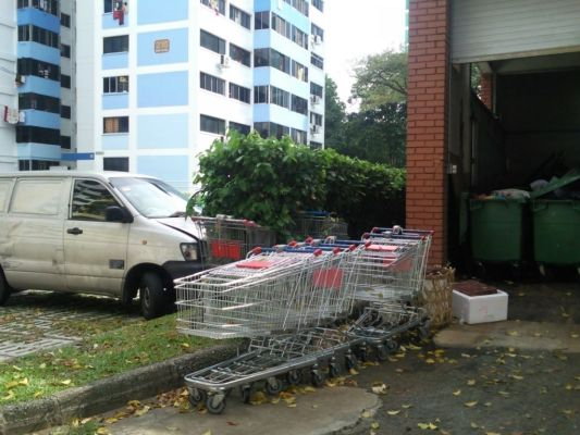 Boon Lay Blk216 NTUC Trolleys (1)