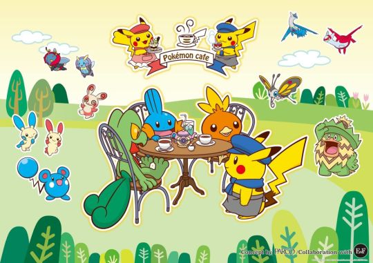 pokemon cafe main
