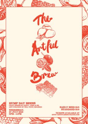 The Artful Brew - Web Poster