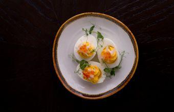 Deviled Eggs The Club Disgruntled Brasserie Popspoken