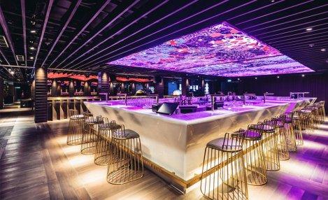 Luminous ceiling designed by Tetsuya Toshima