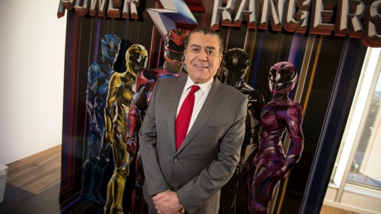 photo of Haim Saban from the LA Times